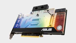 Asus watercooled 30-series GPU
