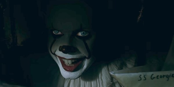 pennywise with georgie's boat