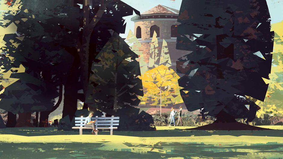 How to create digital plein air paintings