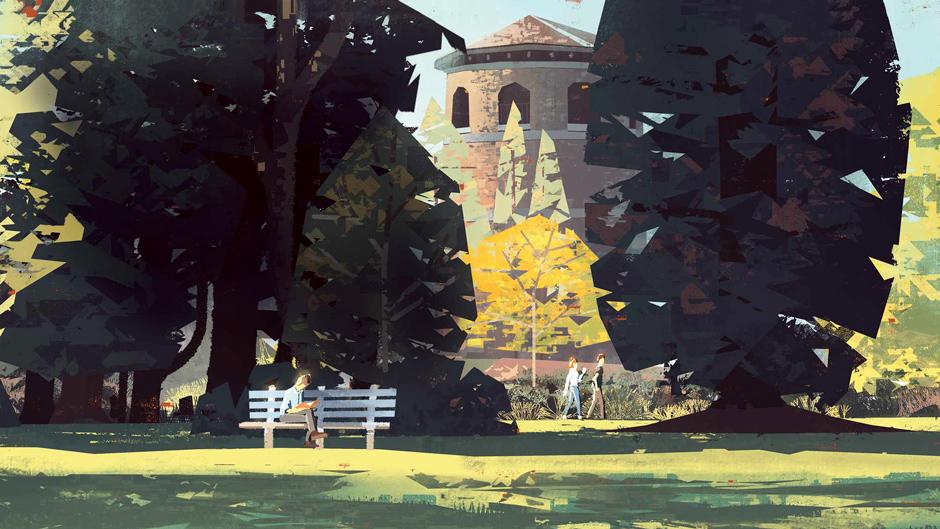 How to create digital plein air paintings | Creative Bloq
