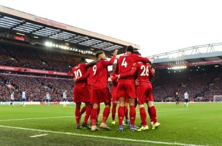 Liverpool at Anfield