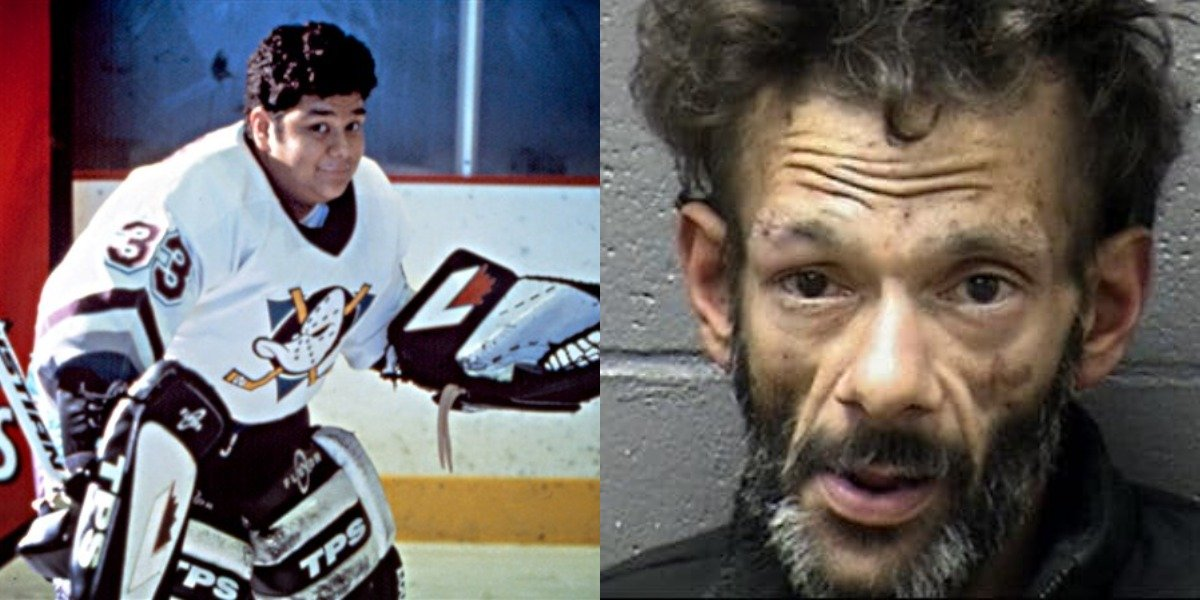 Shaun Weiss in Mighty Ducks and 2020 mugshot after meth and burglary arrest