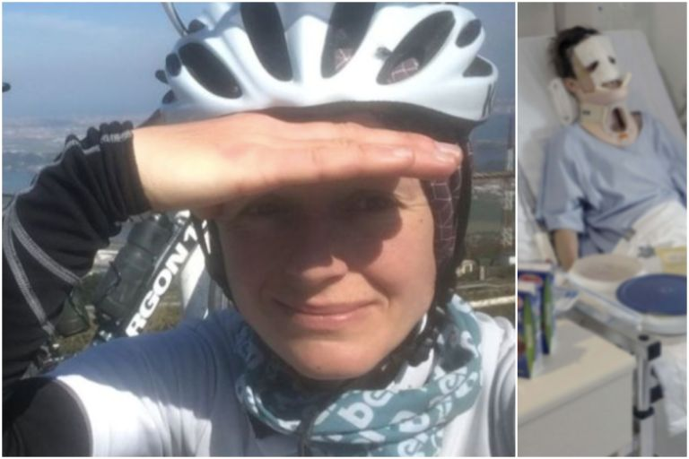 Ana Orenz suffered life-threatening injuries in a crash