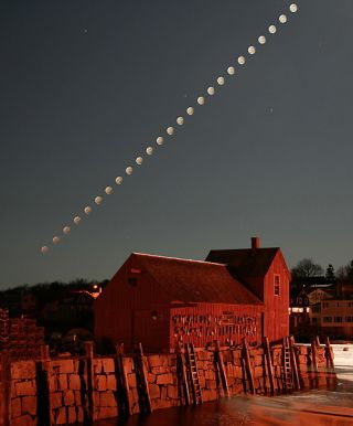 Close-Up of the Penumbral Eclipse Sequence in 2006