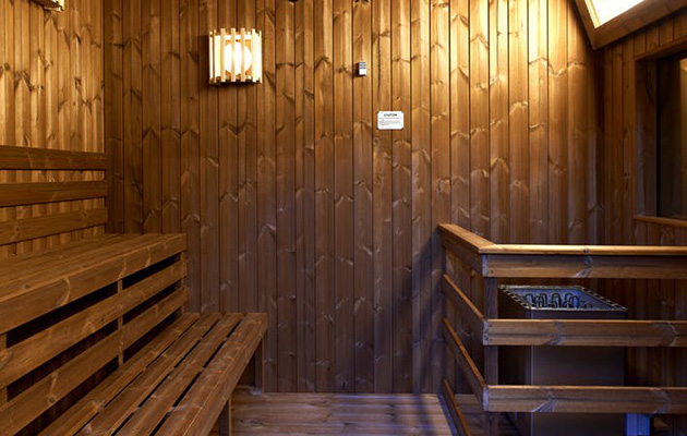 Sauna Celebrity Big Brother House