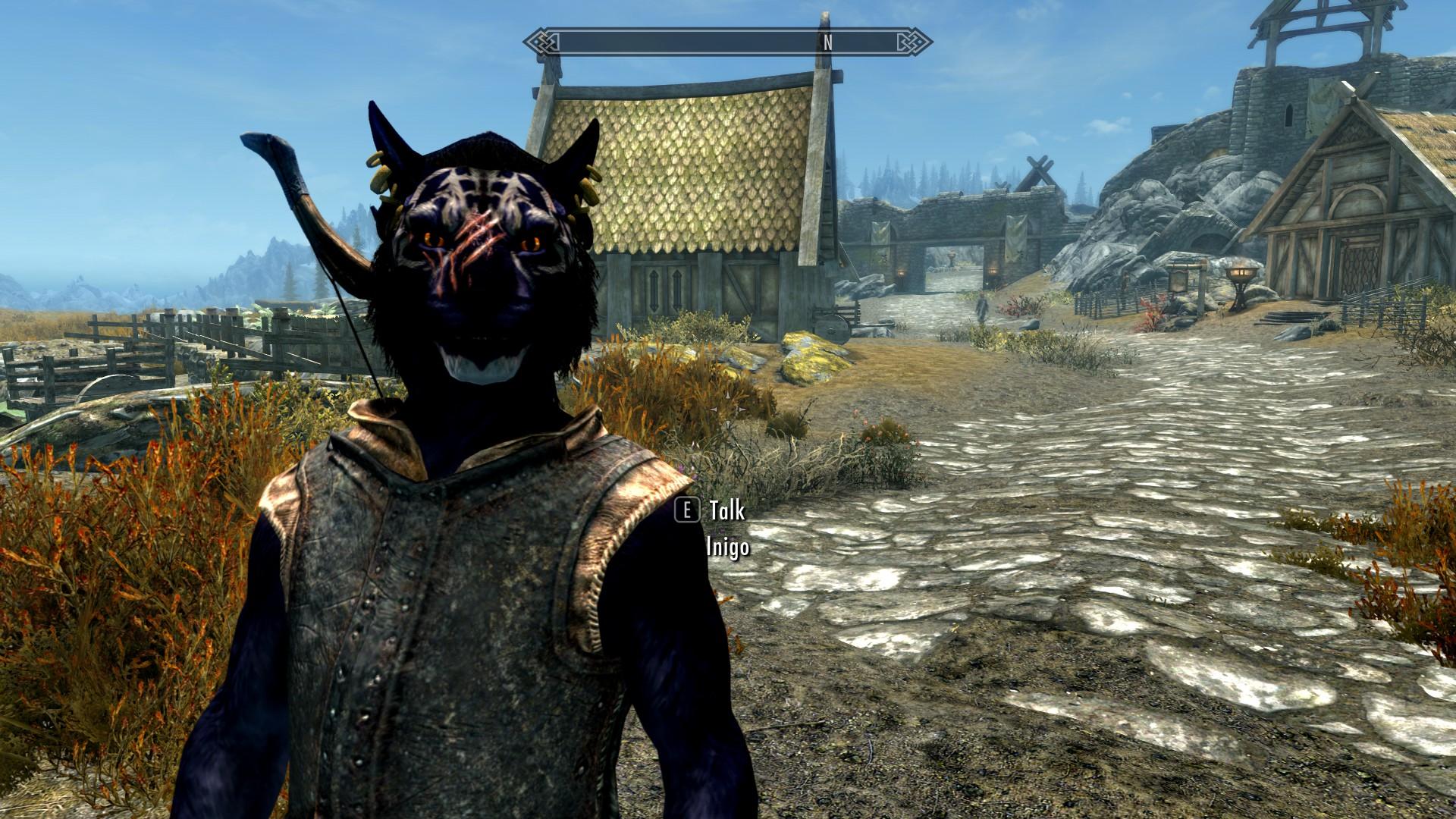 the best skyrim mods: inigo