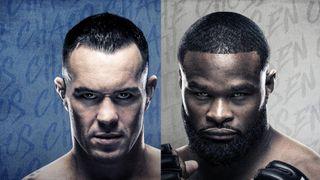 Covington vs. Woodley UFC Fight Night Vegas 11 Promotional