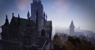 Minecraft recreates the Great Fire of London | PC Gamer