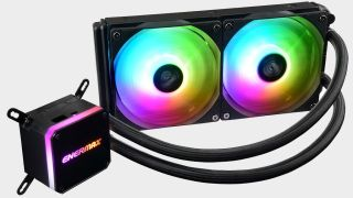 This all-in-one CPU liquid cooler with a 240mm radiator is a steal at just $36