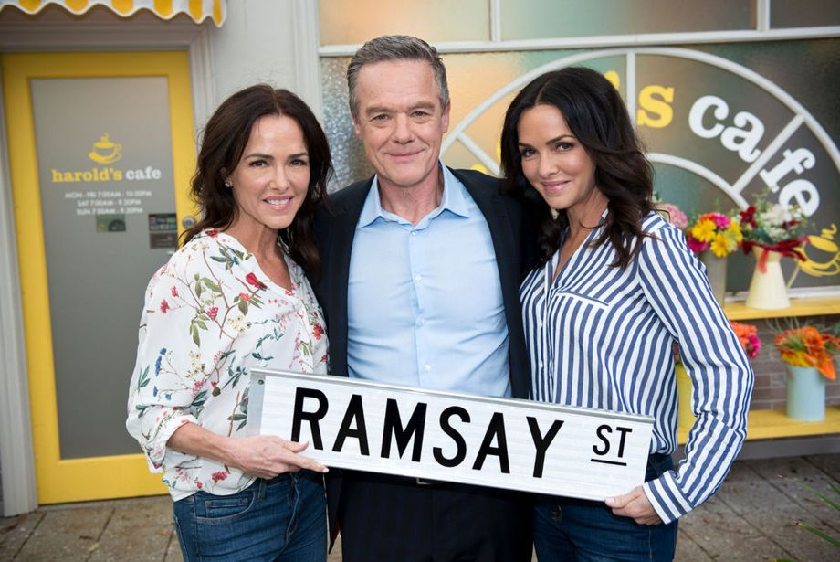 8187 - Gayle and Gillian Blakeney return to Neighbours (2019) 3