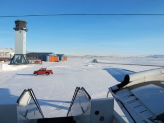 Thule station, Greenland, Icebridge 2013