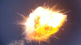 A Firefly Aerospace rocket launch ends in a spectacular explosion
