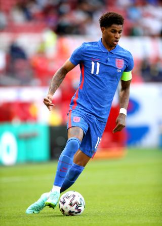 Marcus Rashford captained England in their recent Euro 2020 warm-up win over Romania.