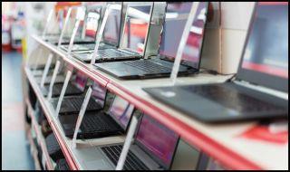 guía de compra de computadoras portátiles filas de computadoras portátiles