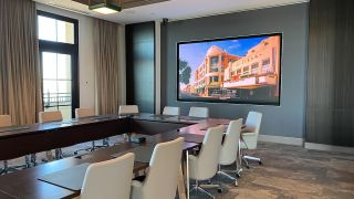 LG displays in The Beach Company's headquarters