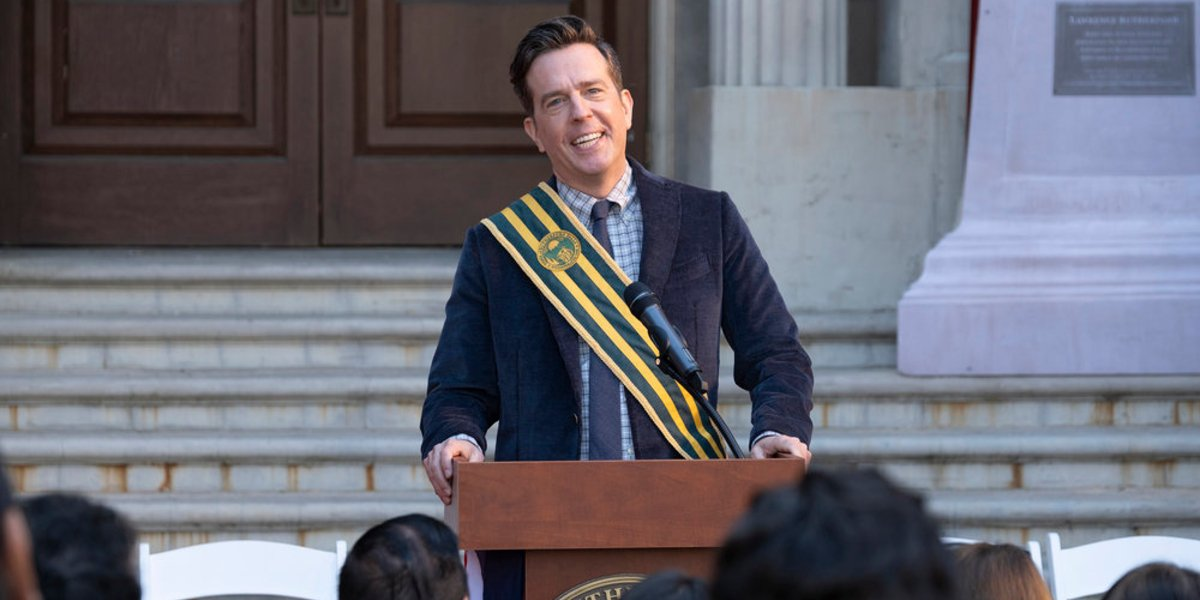 Ed Helms on Rutherford Falls