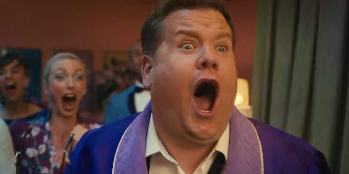 James Corden in The Prom. He will be playing one of Cinderella's mice, and also producing the film Cinderella.