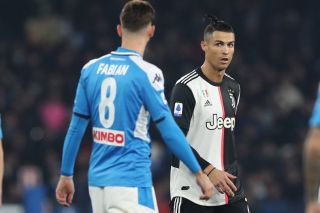 Napoli vs Juventus live stream Coppa Italia Cristiano Ronaldo