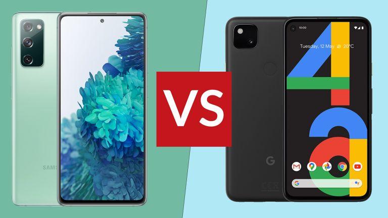 Samsung Galaxy S20 FE 5G vs Google Pixel 4a