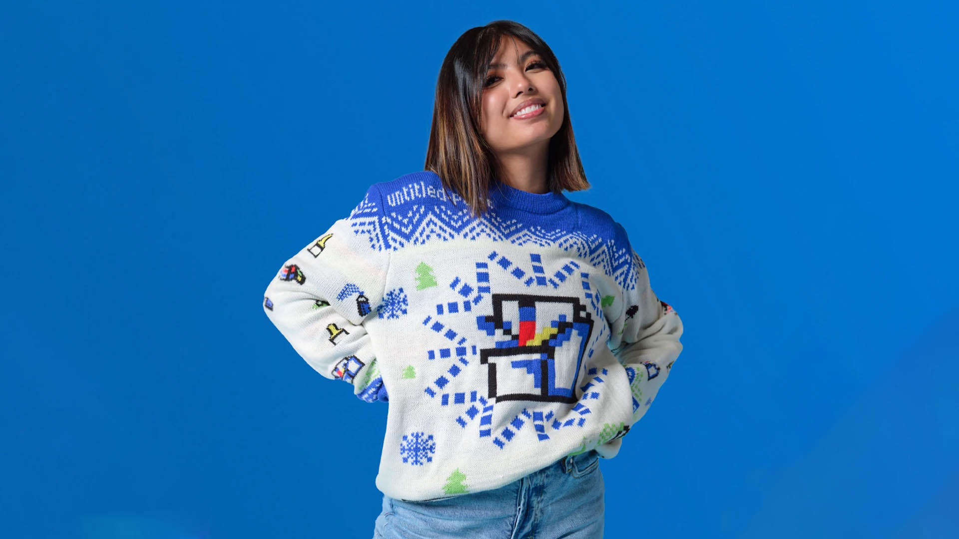 Microsoft's new Christmas sweater is an homage to the world's trustiest app, MS Paint