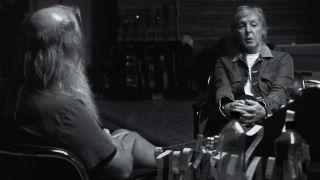 [L-R] Rick Rubin and Paul McCartney
