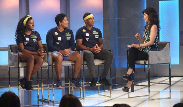 Big Brother 21 Kemi Ovi and David talk to Julie Chen CBS