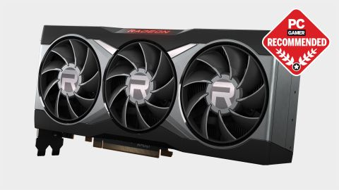 AMD RX 6800 XT graphics card at various angles