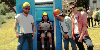 The Jackass crew know it's going to get messy