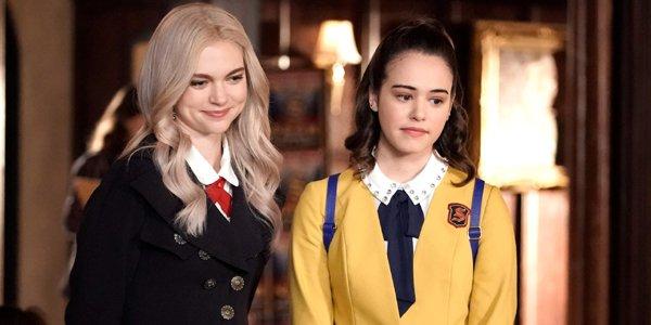 Lizzie and Josie Saltzman on Legacies Season 1 The CW