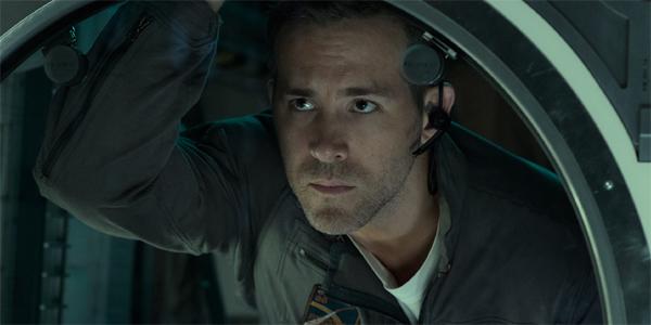 Ryan Reynolds in Life looking pensive