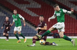 Heart of Midlothian v Hibernian – William Hill Scottish Cup – Semi Final – Hampden Park