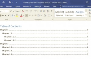 How to Add a Table of Contents in Word 2016 | Laptop Mag