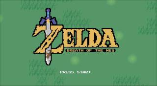 Legend of Zelda Breath of the Wild NES Edition
