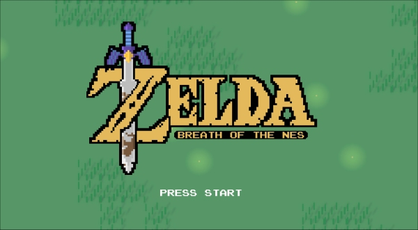 Legend of Zelda Breath of the Wild NES Edition