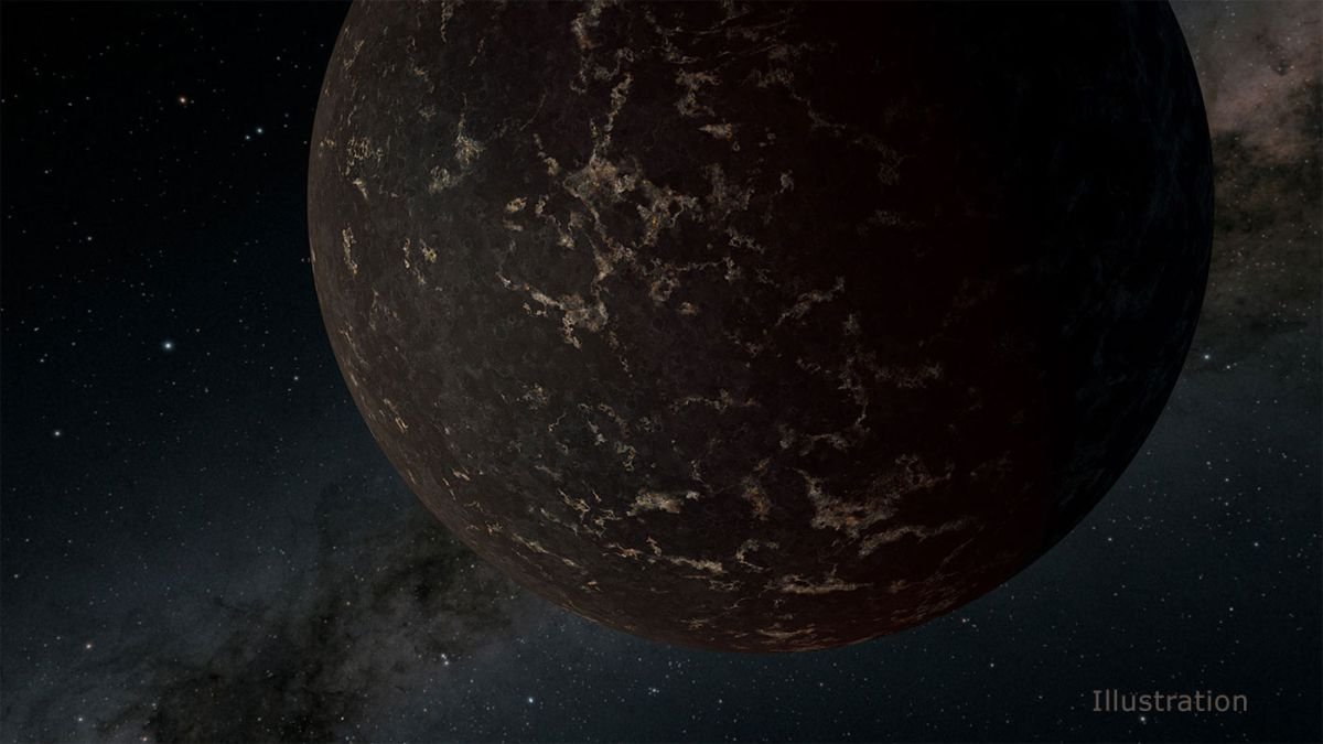 This Weird, Rocky Planet Has No Atmosphere