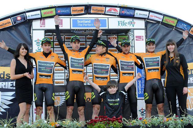 Endura, team leaders, Tour Series 2012, round one, Kirkcaldy