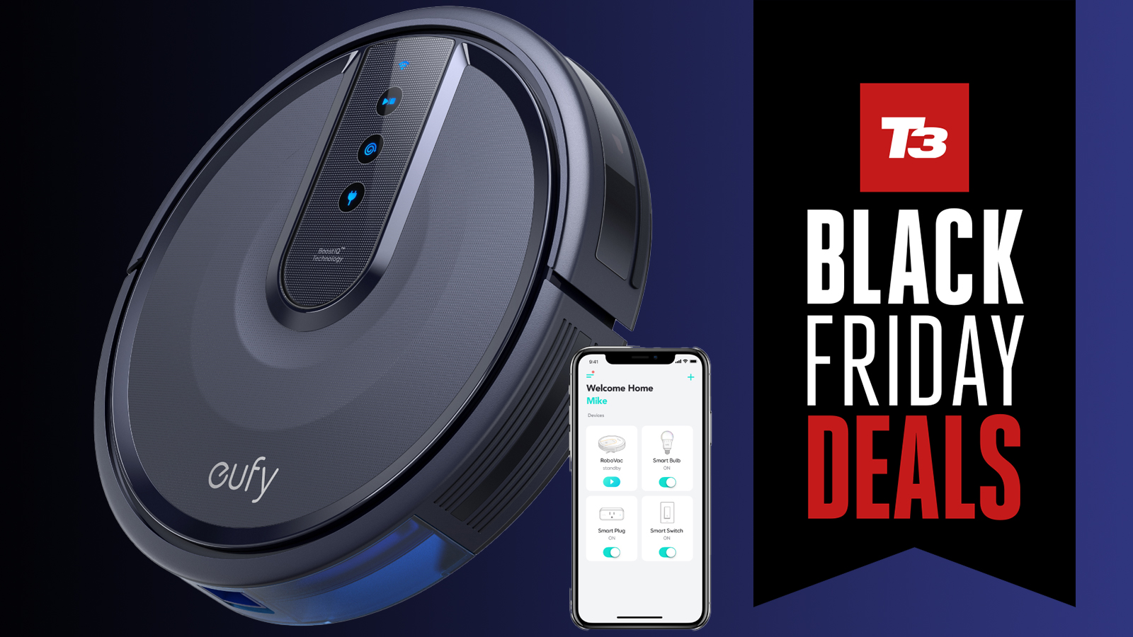 Eufy RoboVac 25C Wi-Fi Connected Robot Vacuum *NEW* SHIP NOW