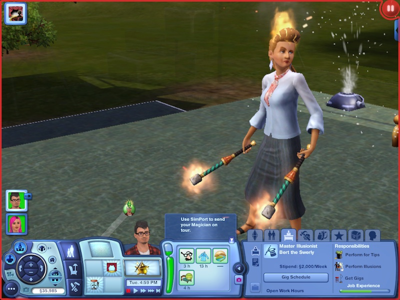 The Sims 3 Showtime Expansion Pack Review: Music, Magic And Acrobatics #21058