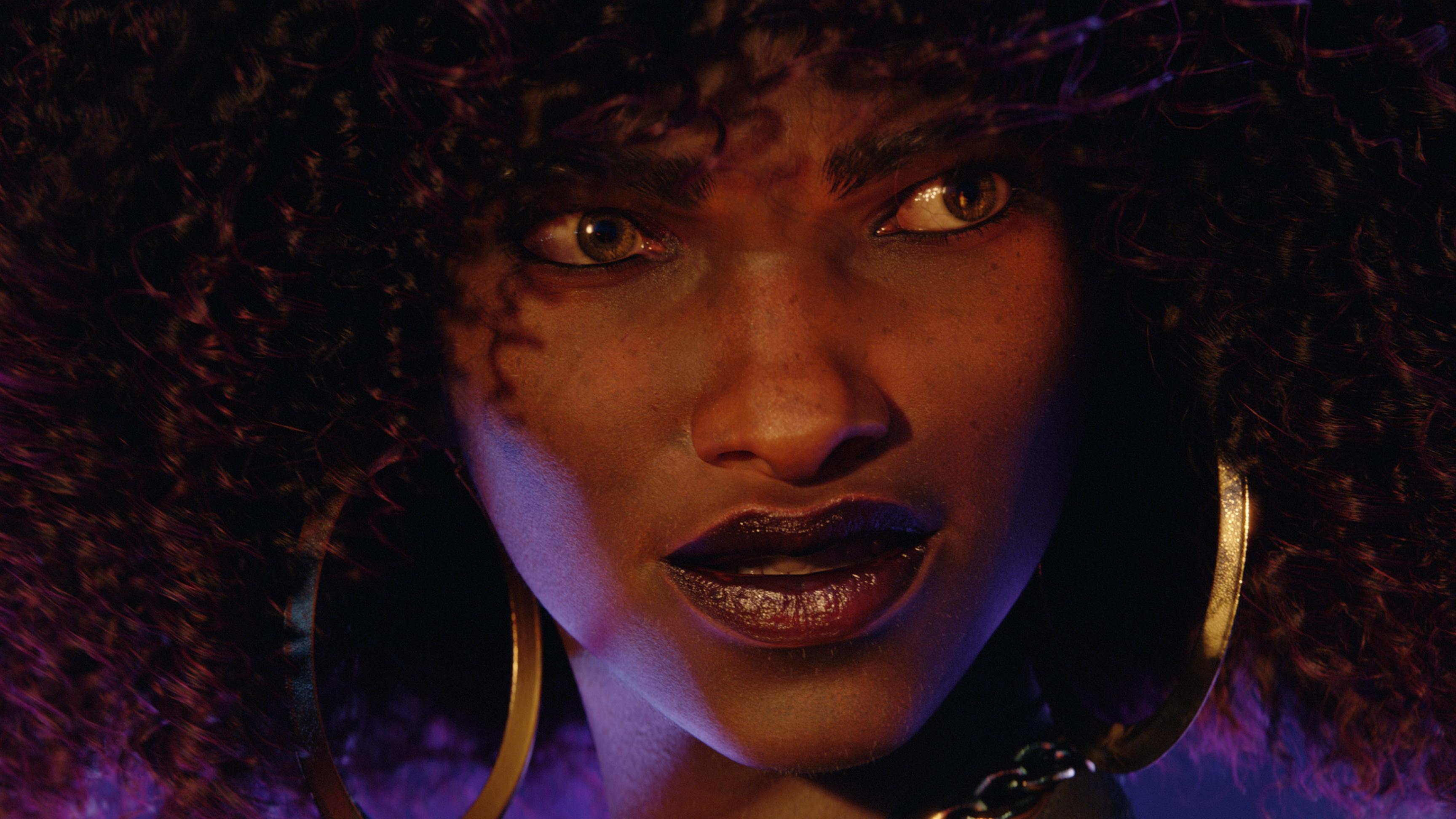 Redfall Layla Ellison close-up trailer screenshot
