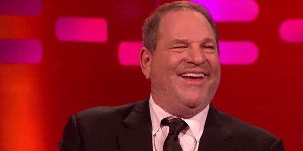 Harvey Weinstein laughing on Graham Norton