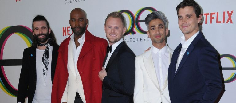 Bobby Berk and the Queer Eye fab five