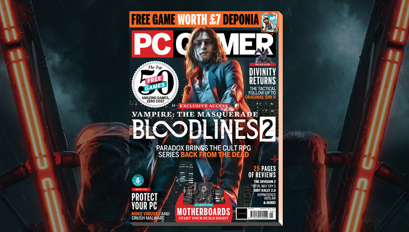 PC Gamer UK May issue: Vampire: The Masquerade—Bloodlines 2