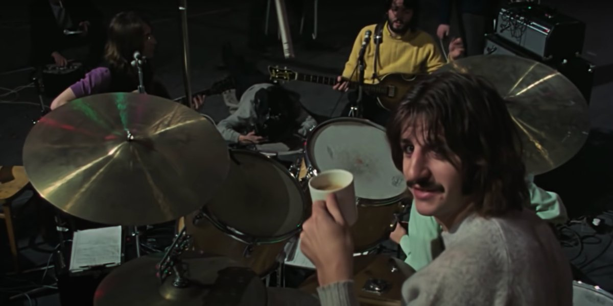 Ringo Starr in The Beatles: Get Back