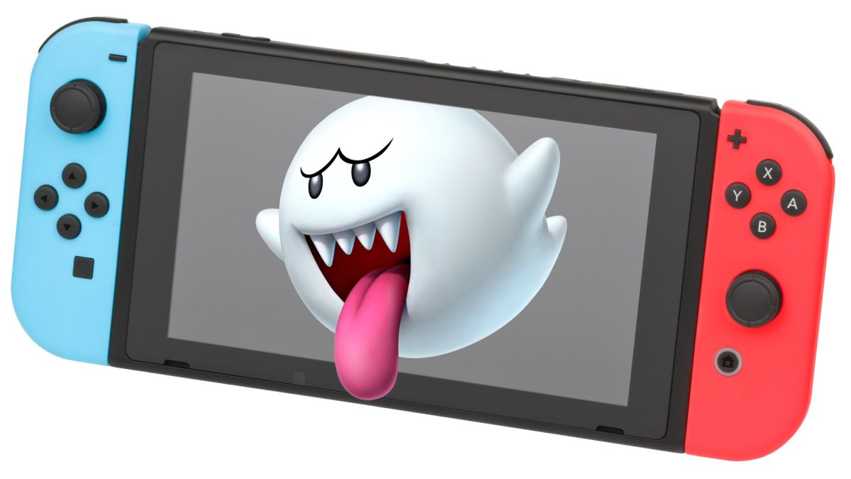 Watch out, these Nintendo Switch NES display ghosts are way too early for Halloween