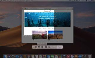 mac screenshot timed