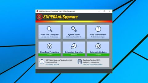 does superantispyware remove malware