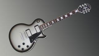 Epiphone Silverburst Les Paul Custom Pro
