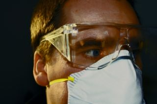 Over-protective, avoiding the flu