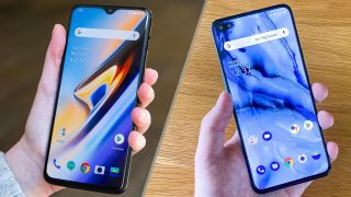 OnePlus Nord vs. OnePlus 6t