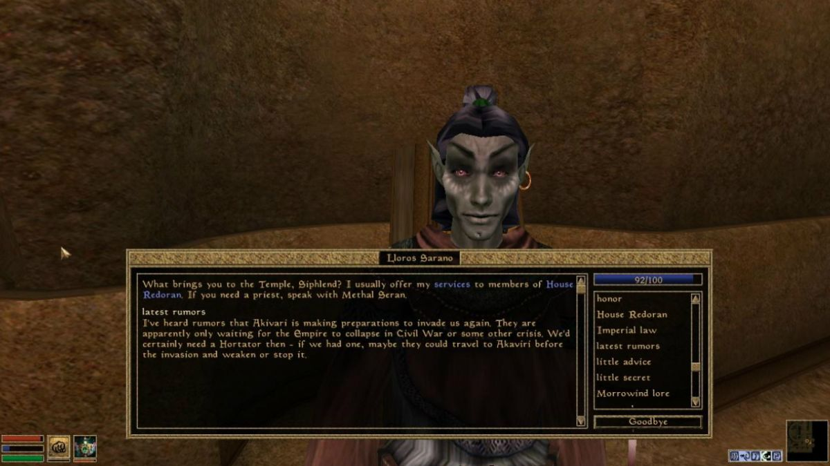 Stop everything: Morrowind might have already told us the main plot